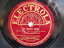 78rpm COMEDIAN HARMONISTS - Ah Maria Mari / Tarantella Sincera - ELECTROLA
