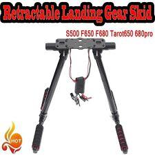 NEW Electric Retractable Landing Gear Skid S500 F650 F680 Tarot650 680pro FPV U