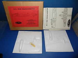 Contrail 1/72 AV Roe Manchester Conversion - Vacuform