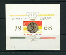 Ajman 1968 #Mb A75 olympics fencing Imperf sheet Mnh F768