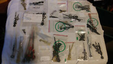 LOT OF 100 PLUS PACKAGES Brass Clock HANDS AND OTHER PARTS