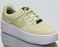 Nike Air Force 1 Sage Low Women's Olive Aura Low Casual Lifestyle Sneakers Shoes