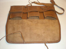 Real Leather case for watches 3 pouch Travel Collectors watch vintage LOTHS UK