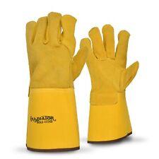 Arbill A172400 Truline Gold Gladiator Leather Glove Lot Of 6 Pr