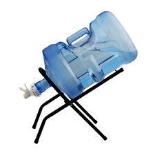 Metal 3-5 Gallon Water Bottle Jug Stand Dispenser Holder Foldable Rack Tool