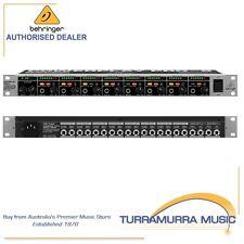 Behringer Powerplay Pro-8 HA8000 8-Channel High-Power Headphone Mixer/Amplifier