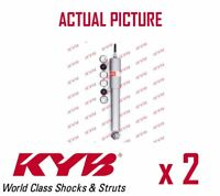 2 x FRONT AXLE SHOCK ABSORBERS PAIR STRUTS SHOCKERS KYB OE QUALITY 554100