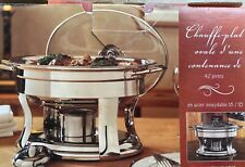 Chafing Dish Oval 4.2 Quart Stainless Steel 456107