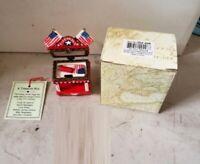 Limoge Style Trinket Box and Trinkets Hinged Treasure Box Miniature Fireworks