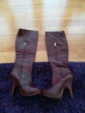 Vivian Westwood high heel leather boots UK3 eur36