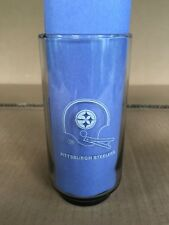 1979 BURGER CHEF NFL PITTSBURGH STEELERS COLLECTORS GLASS