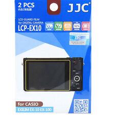 JJC lcp-ex10 Ultra harte Polycarbonat LCD Folie Displayschutzfolie für Casio ex10