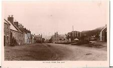 YETHOLM From the East  White Swan Hotel Vtg Real Photo Postcard SCOTLAND UK