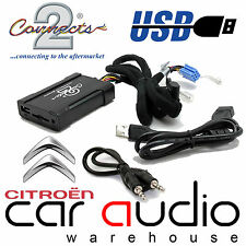 Connects2 CTACTUSB001 Citroen C3 2002 - 2005 Car USB SD AUX In Interface Adaptor