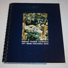 Vintage 1971 NFL NFC Media Guide Book   Indianapolis Colts