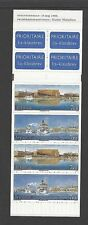 Ships, Boats Swedish Stamp Booklets