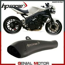 Terminale Di Scarico Hp Corse Hydroform Black Triumph Speed Triple 2009 09