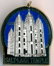 HISTORIC SALT LAKE CITY  LDS MORMON TEMPLE LAPEL PIN
