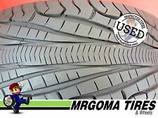 1 GOODYEAR ASSURANCE TRIPLE TRED A/S 225/55/18 USED TIRE 8.5/32 NO PATCH 2255518