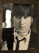 Max Scheler autographed photo - John Lennon - A Hard Day's Night - Ulf Krüger