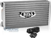 Boss Armor AR2000M 2000 Watt RMS Mono A/B Amplifier Car Audio Amp + Bass Remote