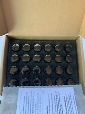 GM OEM 24pc Gloss Black Wheel Lug Nuts 84332439 Brand New