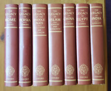 """Lot Of 7 """"Legacy"""" Series H/B Books. (Egypt,India,Rome etc)OUP Clarendon c1987-89"""