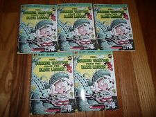 Lot of 5 SUMMER VACATION from the BLACK LAGOON #17 Thaler Lee GUIDED READING