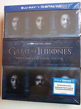 Game of Thrones: Season Six, w/BONUS Disc (Blu-ray Disc, Digital Copy) NEW