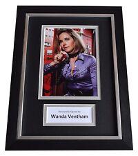 More details for wanda ventham signed a4 framed autograph photo display sci-fi ufo tv aftal coa
