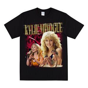 KYLIE MINOGUE Homage Tshirt...Mens T-shirt Womens T Shirt Vintage Neighbours Tee