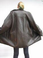 Mens L XL 100% Shearling Lambskin Sheepskin Coat Jacket  #RR149 as new