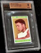 1967 PANINI CASSIUS CLAY *HOF* BVG 8 **RARE** 9 MINT SUBGRADES INCREDIBLE CARD