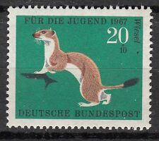 TIMBRE ALLEMAGNE  NEUF N° 388 **  FAUNE HERMINE