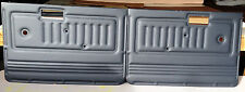 FJ40 , FJ45  Land Cruiser Door Panels - Pair...Color Black