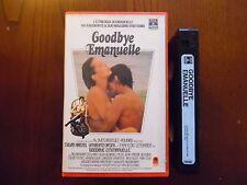 Goodbye Emanuelle (Sylvia Kristel, Umberto Orsini) - VHS ed. Columbia rara