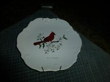 "Vintage West Virginia State Porcelain Wall Hanging Plate 8"" Usa Vg !"