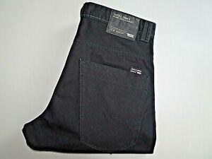 "VGC* JACK JONES Mens Jeans Black ANTI FIT STAN SIZE W34 L32 Waist 34"" Leg 32"""