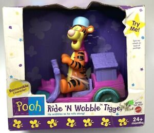 Mattel Winnie the Pooh Ride N' Wobble Tigger Playset - NIB