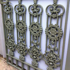 Victorian Style Metal Cast Iron Gate Garden Drive Way Fence Post Rail Side YD005