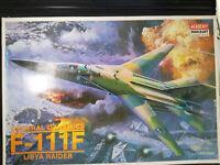 General Dynamics F-111, F, Libya Raider, Academy, Scale:1/48, Kit: 1675, Rarität