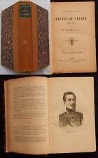 P/ RÉCITS DE CRIMÉE 1854-1856 E. Perret (Bloud & Barral) relié