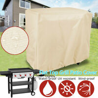 Round Waterproof Outdoor Kettle BBQ Chimney Gas Electric Grill Cover Protection