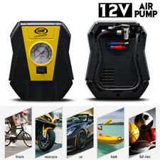 100 PSI Tire Inflator Car Air Pump Compressor Electric Portable Auto 12V DC Volt
