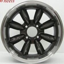 Rota Rb 16X7 +40 Gun Metal 4X100 Fit Civic Si Crx Fit Deo Sol Old School Wheel