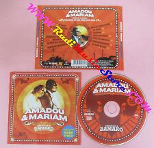 CD AMADOU & MARIAM Dimanche A Bamako 2004 Europe  no lp mc dvd (CS15)