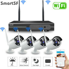 SmartSF Wireless 8CH 1080P NVR Security Camera System Outdoor IR Night Vision