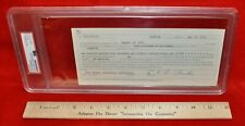 Leo Fender Autographed 1971 $275,000 Bank Note PSA Authenticated Encapsulated