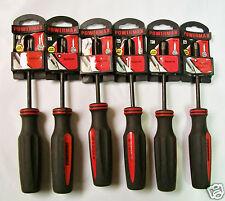 Torx Driver Set of 6 - T10, T15, T20, T25, T27, T30, Torx Screwdriver Set