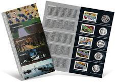USPS State Quarters and Stamps Portfolio (DE, PA, NJ, GA, & CT)